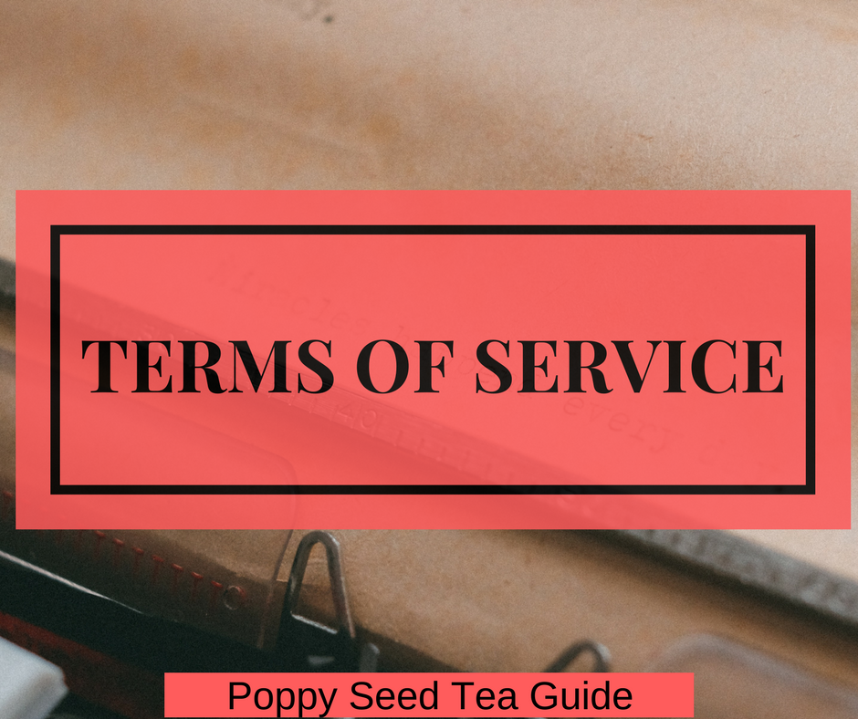 terms service poppy guide