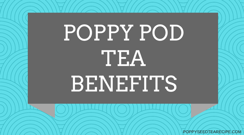 Benefits Of Poppy Pod Tea Poppy Seed Tea Guide